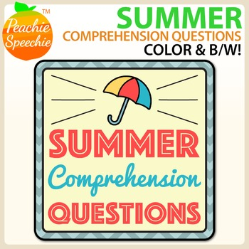 Summer Comprehension Sentences