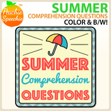 Summer Comprehension Sentences