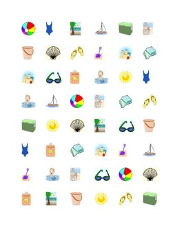 Summer Connect the dots Squares game