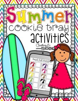 Summer Cookie Tray Activities