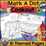 Summer Cookout Themed Dot Dauber Set