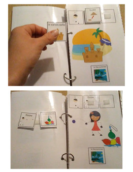 Summer Adapted Books and Emergent Readers for Autism and Special Education