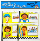 Summer Count And Draw Adapted Books Bundle