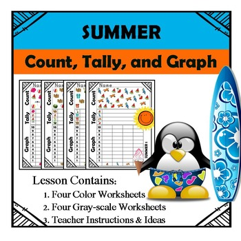 Summer - Count, Tally, & Graph