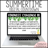 Summer Countdown Activity: Kindness Challenges