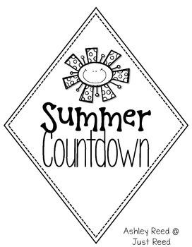 Summer Countdown Kite FREEBIE