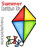 Summer Countdown Kite FREEBIE