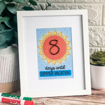 Summer Countdown Picture {Freebie!}