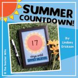 Summer Countdown Picture {Freebie!}