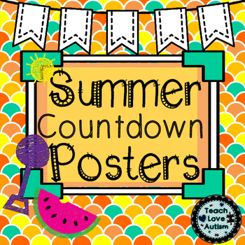 Summer Countdown Posters