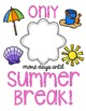 Summer Countdown Printable {FREE}