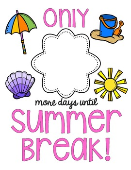 Summer Countdown Printable {FREE}