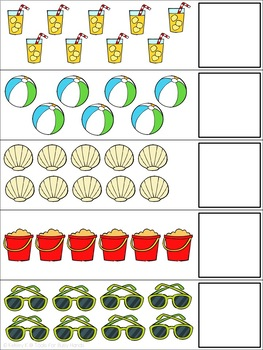 Summer Counting 1-20