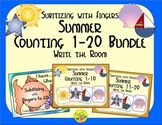 Summer Counting 1-20 Bundle {Subitizing with Fingers}