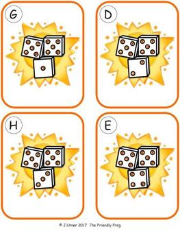 Summer Counting 11-20 {Subitizing with Dice}
