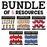 Summer Counting Clipart Bundle