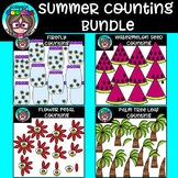 Summer Counting Clipart Bundle {Scrappin Doodles Clipart}