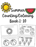 Summer Counting Book