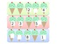 Summer Counting File Folder