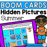 Summer Counting Math Centers | Digital Game Boom Cards Dis