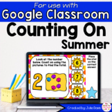 Summer Counting On Addition Digital Game for Google Classr