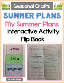 Summer Craft - My Summer Plans - Seasonal Crafts