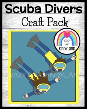 Scuba Diver Swim Kids Craft (Summer, Beach, Ocean)