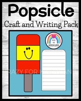 Popsicle Craft and Writing (Summer, Beach)