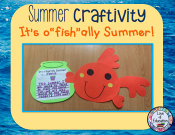 Summer Craftivity