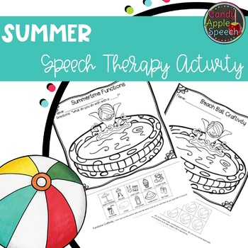 Summer Craftivity Freebie
