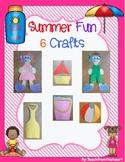 Summer Crafts (6 crafts!)