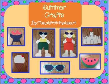 Summer Crafts (7 crafts!)