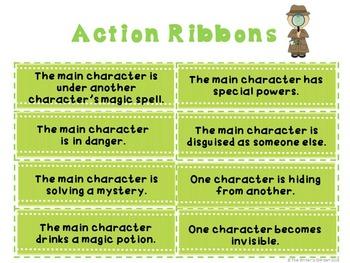 Summer Stories: Setting, Character, and Plot Ribbons