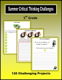 Summer Critical Thinking Challenges (5th Grade)