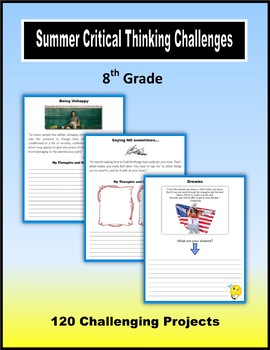 Summer Critical Thinking Challenges (8th Grade)