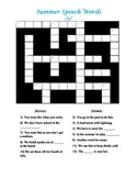 Summer Crossword for /s/