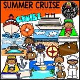 Summer Cruise Clip Art {Educlips Clipart}