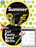 Summer - Cut and Paste
