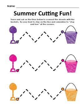 Summer Cutting Fun Packet