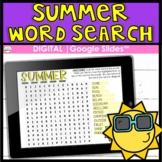 Summer DIGITAL Word Search