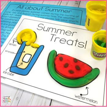 Summer DOUGH Fun for Speech & Language