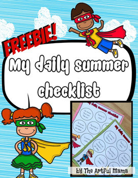 Summer Daily Checklist