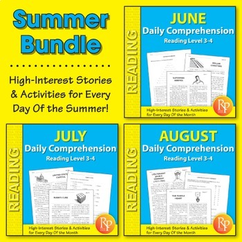 Summer: Daily Comprehension {Bundle}