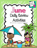 June Daily Review Activities