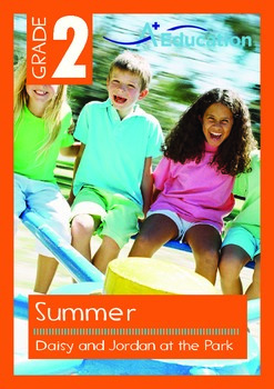 Summer - Daisy and Jordan at the Park - Grade 2