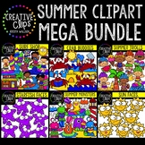 Summer Clipart Mega Bundle ($23.50 Value) {Creative Clips Clipart}