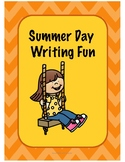 Summer Day Writing Task