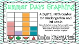 Summer Days Graphing-A Digital Math Center (Compatible wit