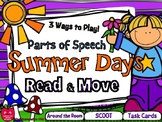 Summer Days Read & Move Parts of Speech Grammar Activity Pack