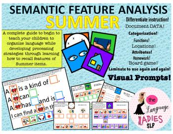 Summer Describing!: Semantic Feature Analysis Bundle